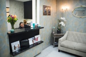 Periodontist in Beverly Hills office interior